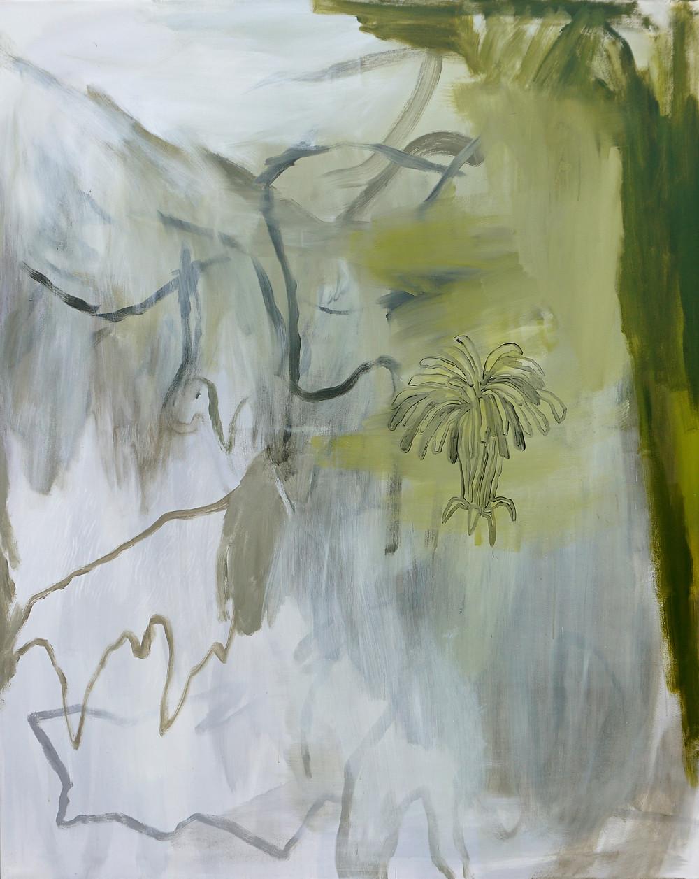 Genealogia di un fiore di tarassaco, 2019, 200x160 cm - credit Anna Marzuttini