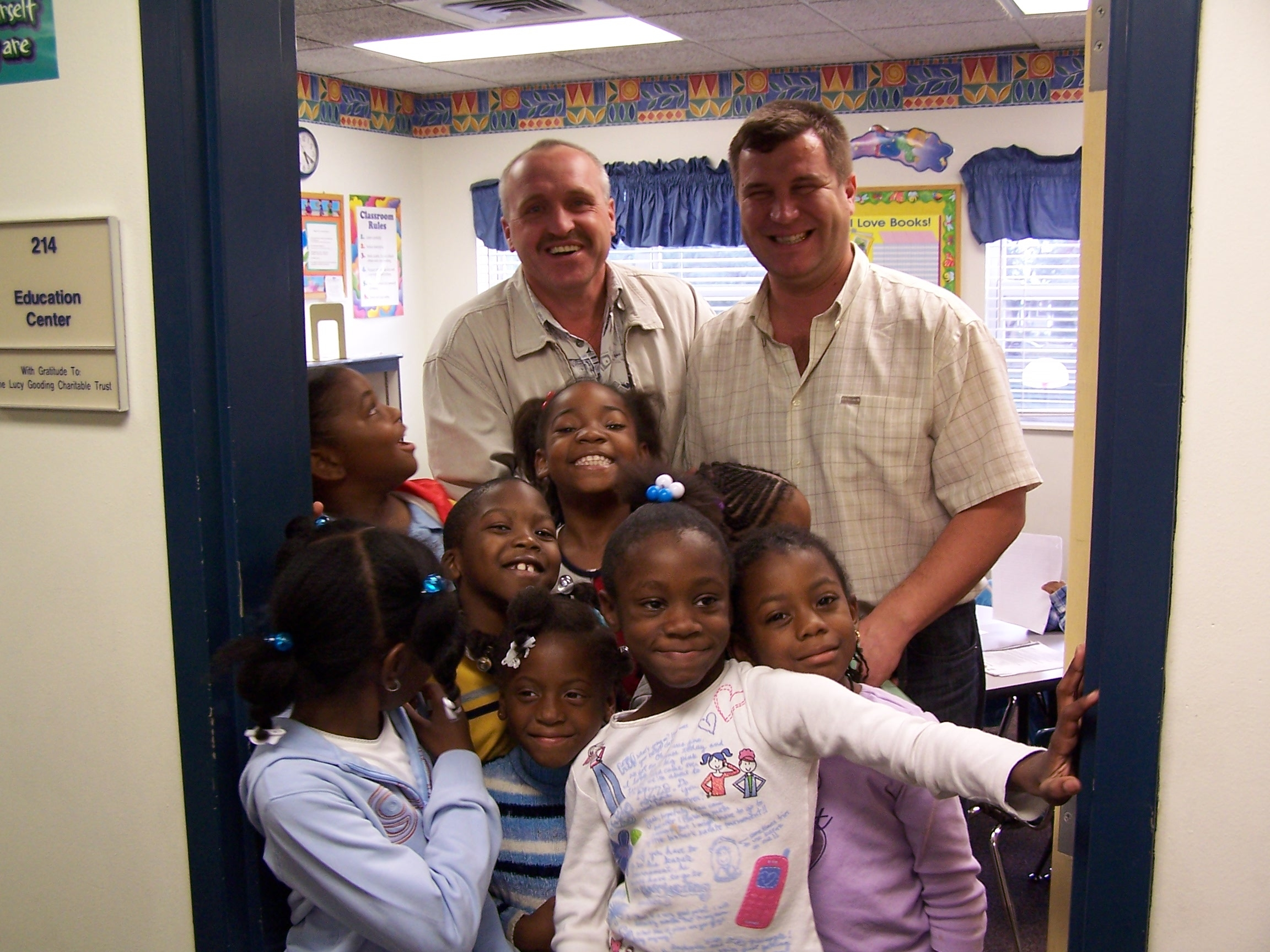 2002 Classroom Visit