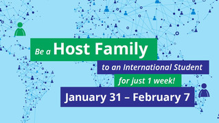 Be a Host Family to an International Student