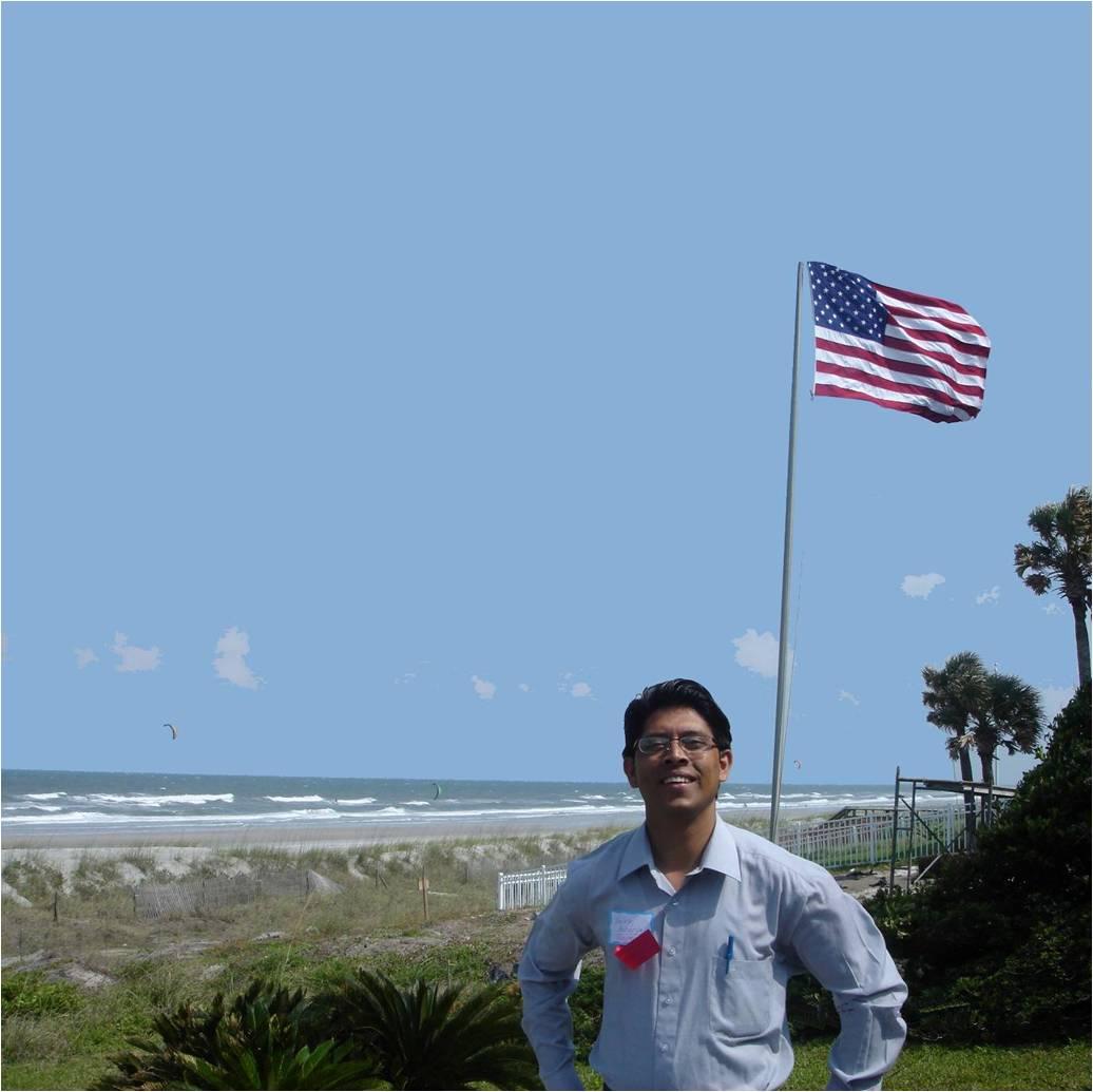 Yuvraj with flag