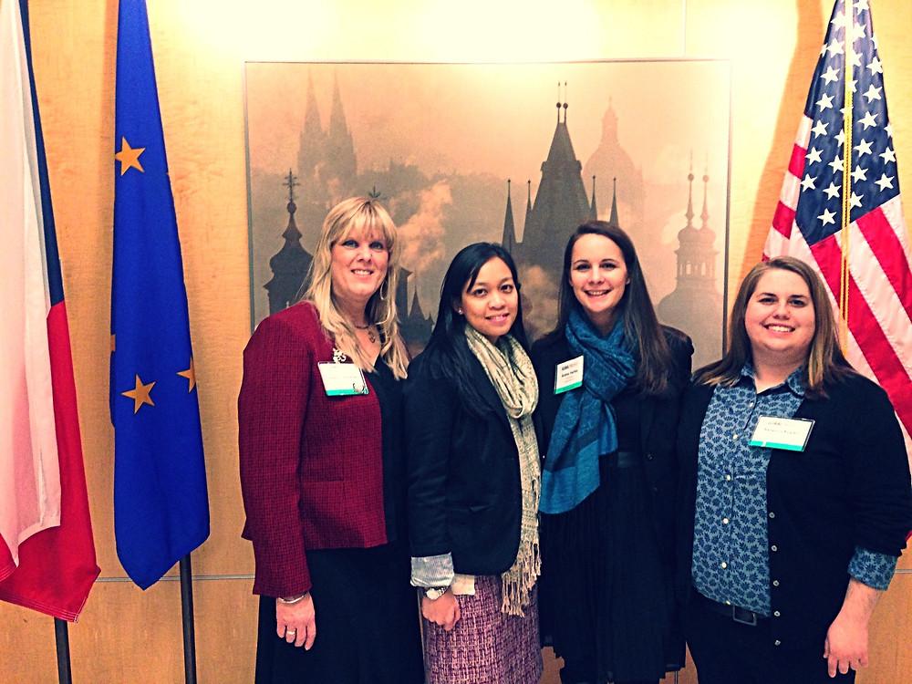GlobalJax Team Visits Czechia Embassy 2015
