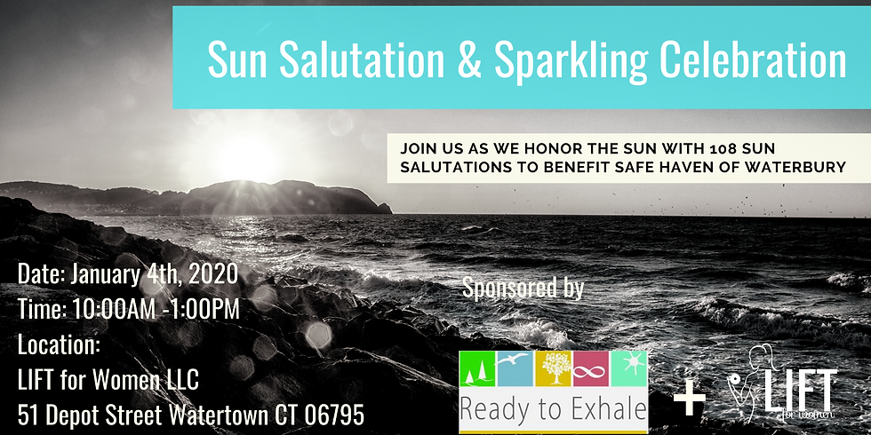 108 Sun Salutations Sparkling Celebration