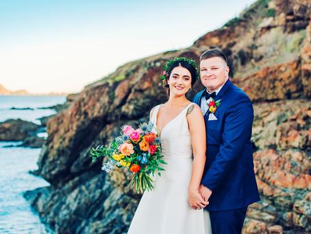 GRAESENNE & BROCK | COLOURFUL KANANGRA HEIGHTS WEDDING, YEPPOON