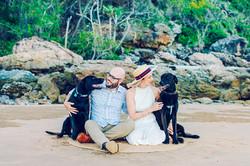 Central Queensland couple engagement photographer
