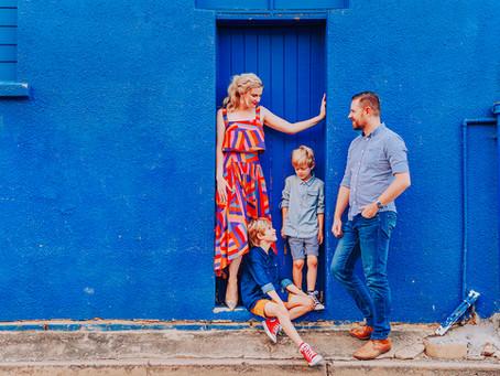 THE BROWN FAMILY | COLOURFUL URBAN FAMILY SESSION, ROCKHAMPTON