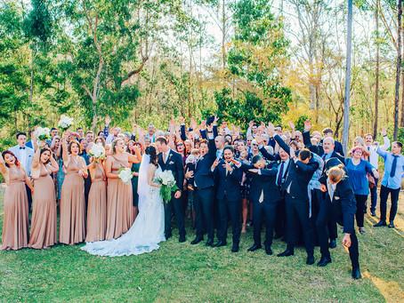 RACHAEL & AARON | WALKABOUT CREEK, BRISBANE WEDDING