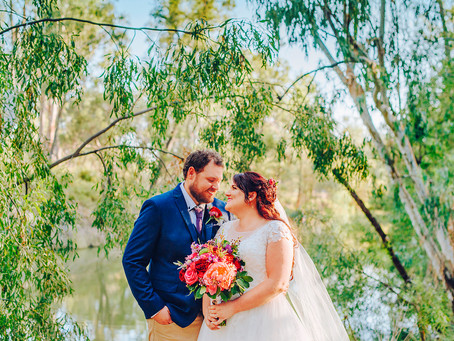CORINA & STEPHEN | RUSTIC EMERALD, CENTRAL HIGHLANDS WEDDING