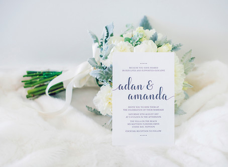 YOUR GUIDE TO WEDDING STATIONERY | ROCKHAMPTON WEDDING INVITATION DESIGN