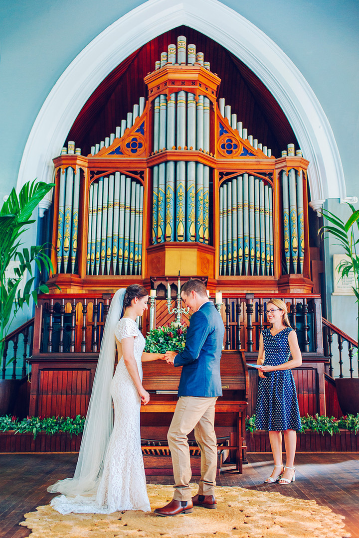 The Church Events Venue, Rockhampton wedding