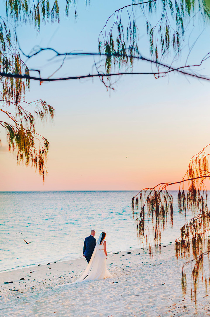 Heron Island Destination Wedding Photographer, Southern Great Barrier Reef Wedding