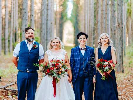 ANGE & LEE | SNEAK PEEK, 'DARK ROMANCE' KANANGRA HEIGHTS YEPPOON WEDDING