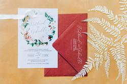 Central Queensland & destination wedding invitation stationery graphic designer
