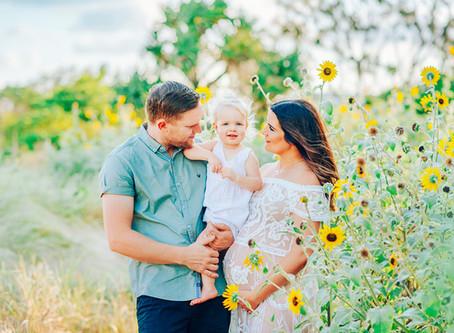 THE DOBINSON FAMILY | BEACH MATERNITY SESSION, YEPPOON