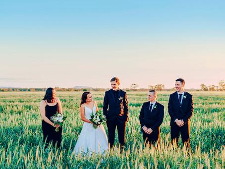 RACHEL & DYLAN | CLASSIC WINTER WEDDING, ROCKHAMPTON