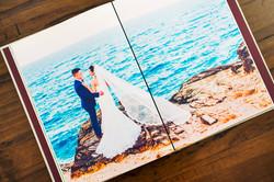 Agnes Water wedding photo album