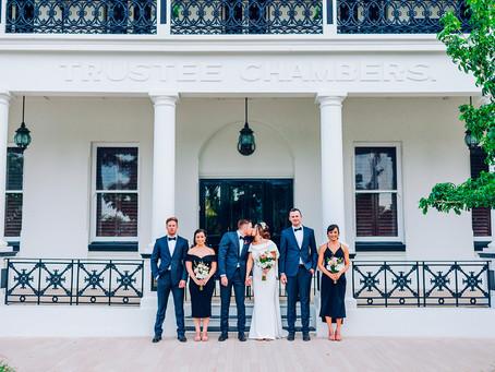 CELESTE & MITCH | ST AUBINS VILLAGE, ROCKHAMPTON WEDDING