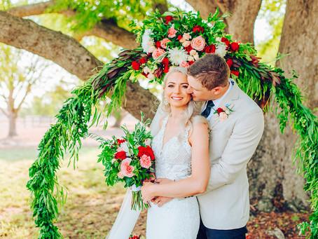 PRUE & ALISTER | PARADISE LAGOONS, ROCKHAMPTON WEDDING