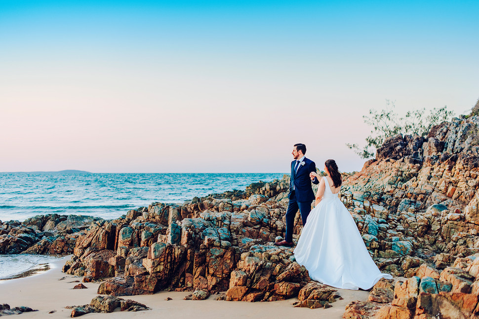 Agnes Water 1770 Golf Club Wedding Engagement Couple Photographer