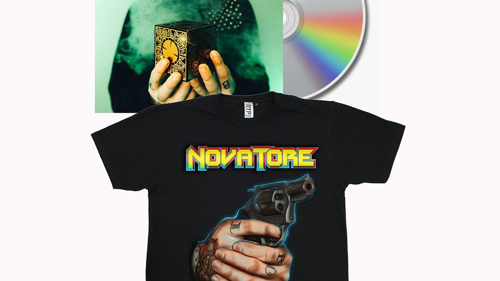 Embrace the Darkness II Shirt/CD Bundle