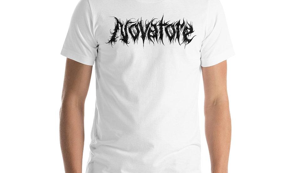 Novatore Black Logo short-sleeve unisex t-shirt