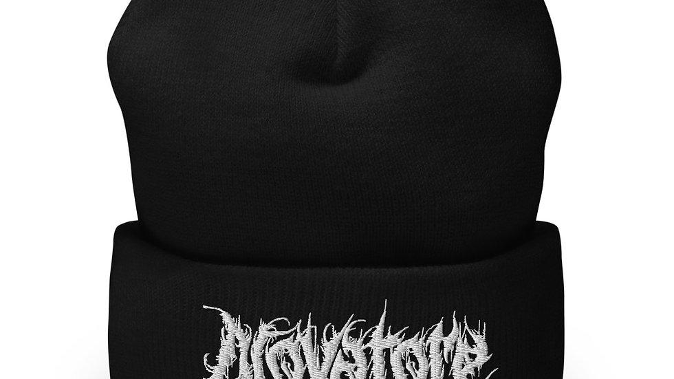 Novatore Logo cuffed beanie
