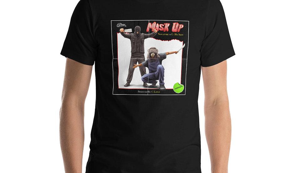 Mask Up short-sleeve unisex t-shirt