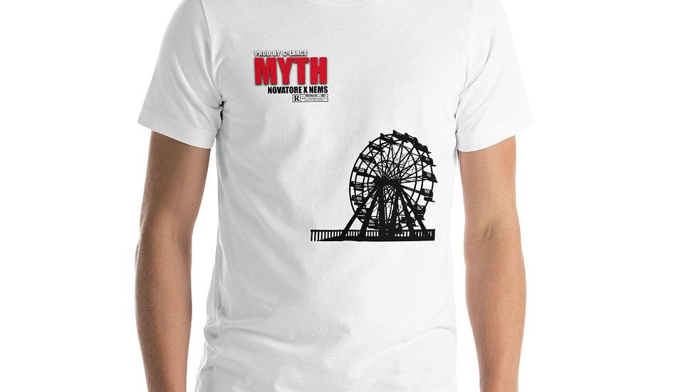 Myth short-sleeve unisex t-shirt