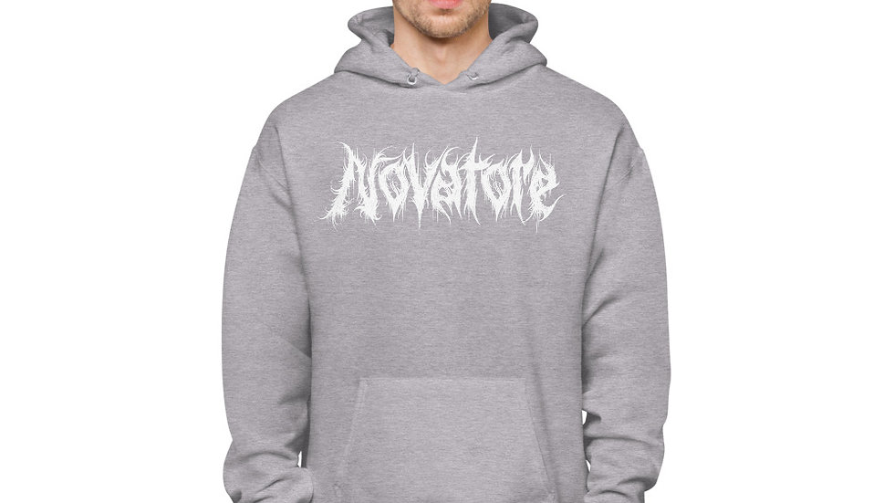 Novatore Logo unisex fleece hoodie