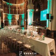 Emtelle customer event dinner setting