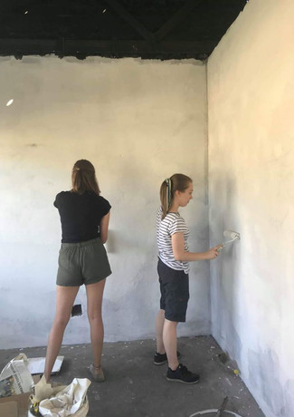 Painting the Craft Centre