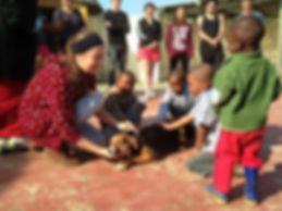 Wild Inside Vet Volunteers South Africa Community Education