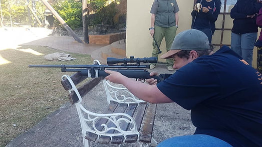 Wild Inside Adventures South Africa Dart Gun Practice