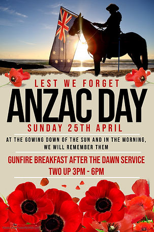 Copy of Anzac Day Poster - Made with Pos