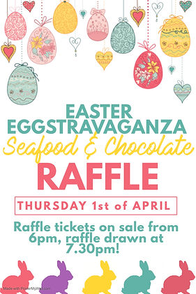 Copy of Easter Raffle Flyer Template - M