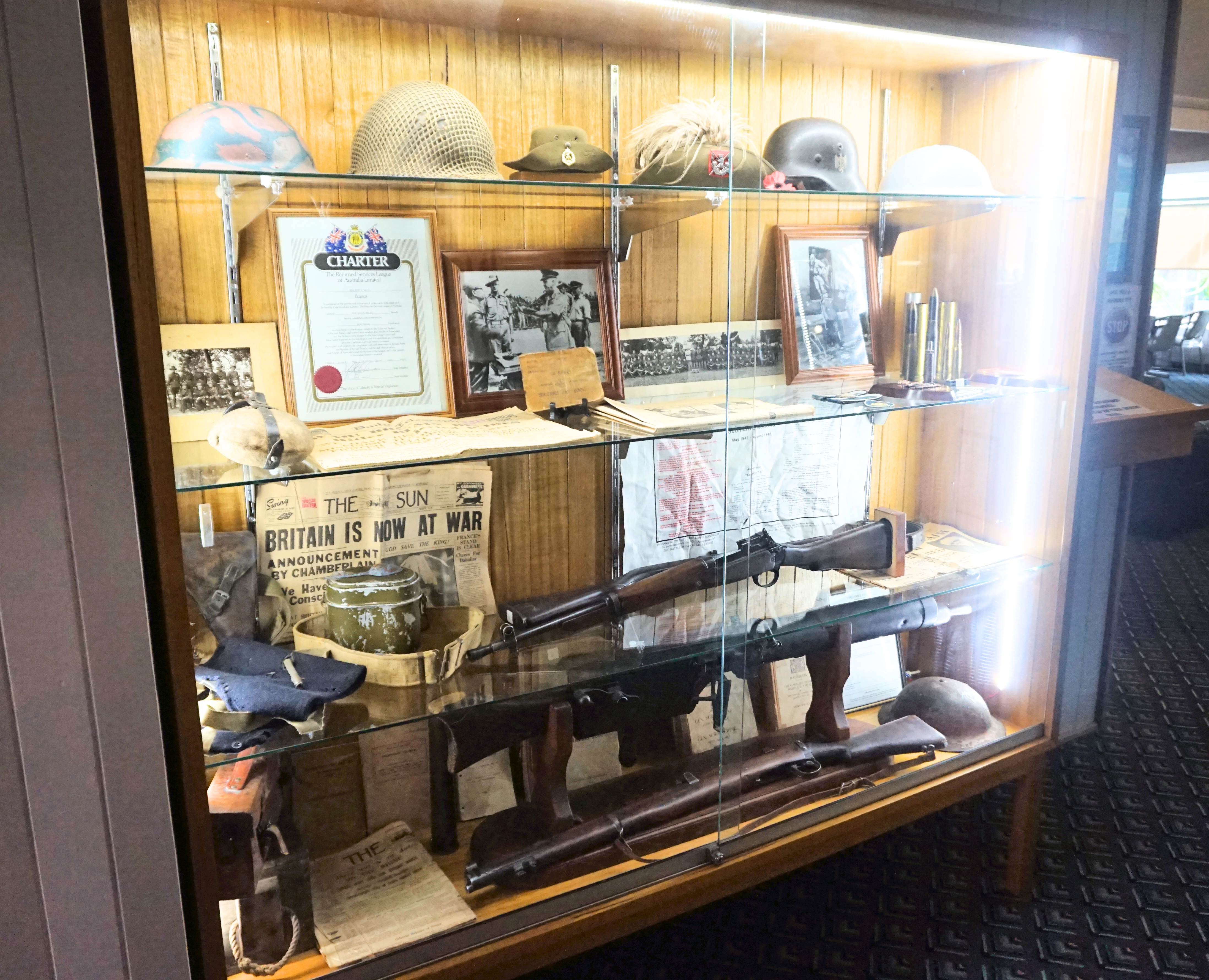 Memorial Cabinet