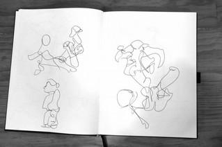 Visita do Curso de Desenho da Velha-a-Branca à Arte Total