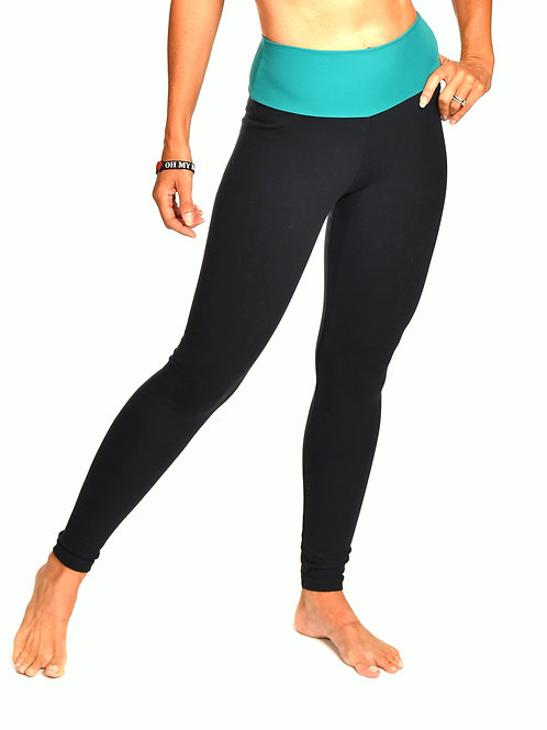 High waisted skinny legging