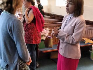 Best wishes to Rev Diane Grice