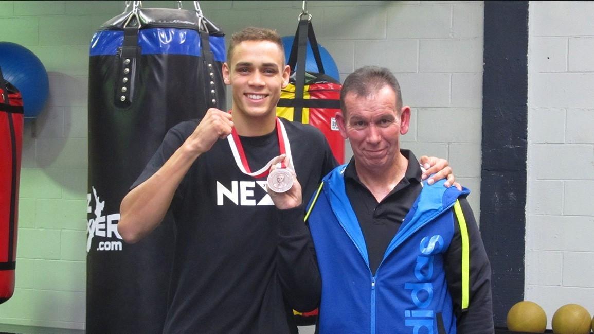 2X Commonwealth Gold Medalist David Nyika and Rick Ellis