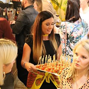 Callie-Anne cooks book launch