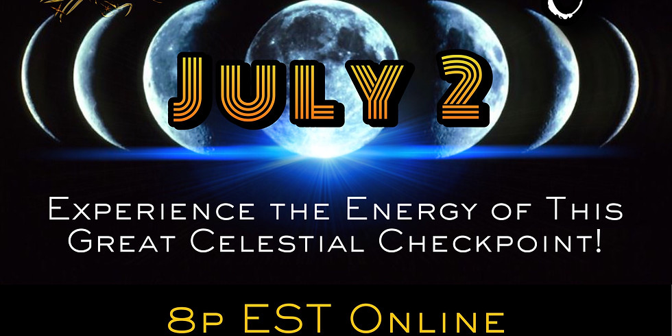 New Moon Solar Eclipse Online Party!