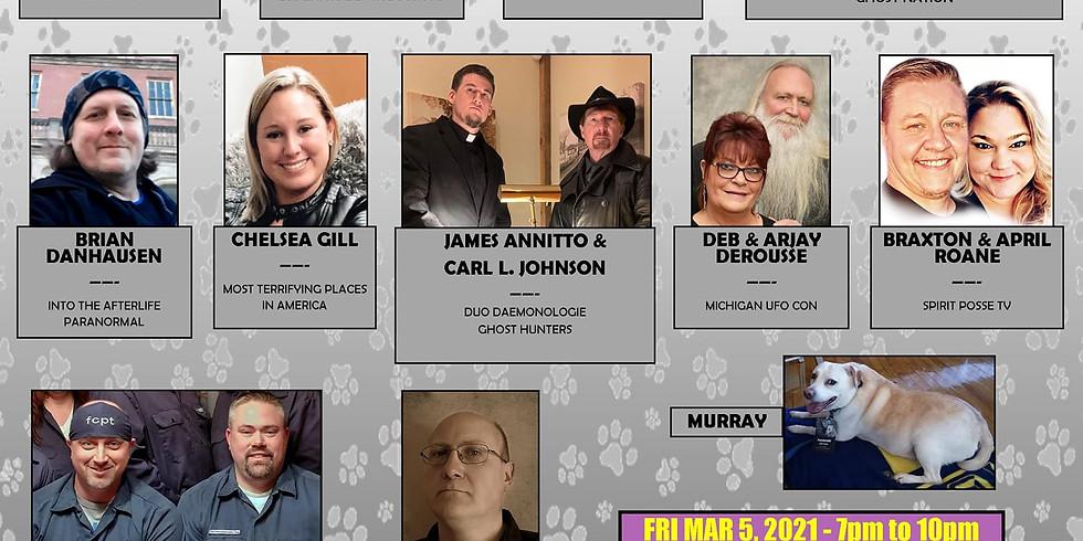 Pawtographs Parafest 2021 #MurraysLegacy