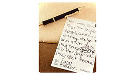 Divinely Guided Spiritually Channeled Handwritten Messages