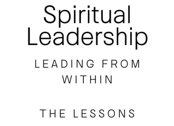 Spiritual Leadership: The Source Within