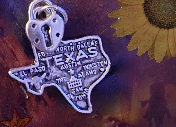 """Texas """"Home"""" Pendant"""