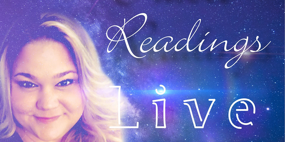 Oracle Readings Live: REGISTRATION CLOSED