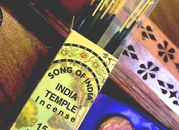 India Temple Incense