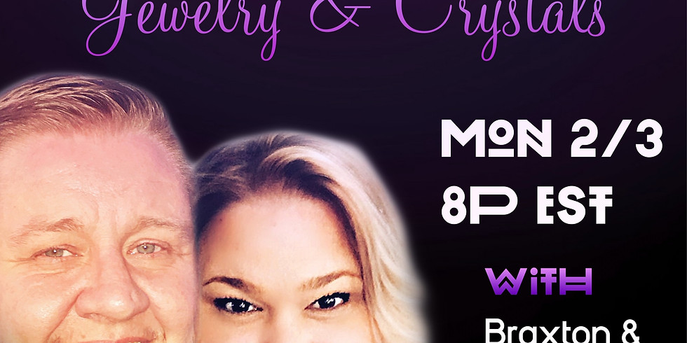 Crystal & Jewelry Online Party!