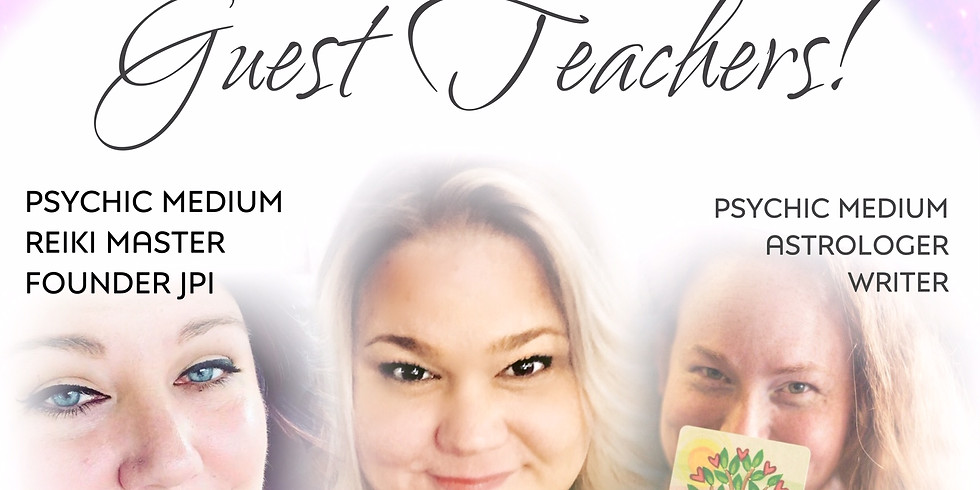 June 25th Psychic Circle with Guest Teachers!