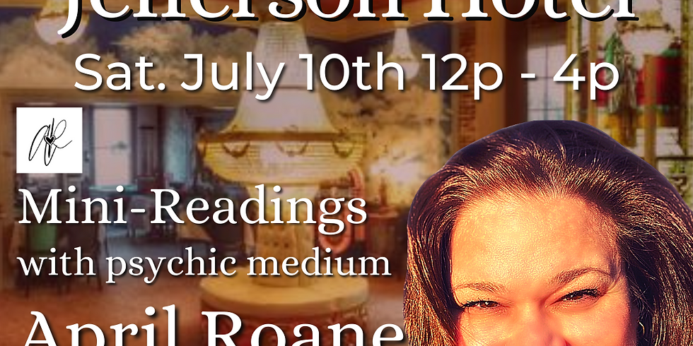 Readings at the Historic Jefferson Hotel